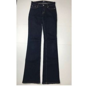 7 Seven For All Mankind Jeans Skinny Bootcut 25